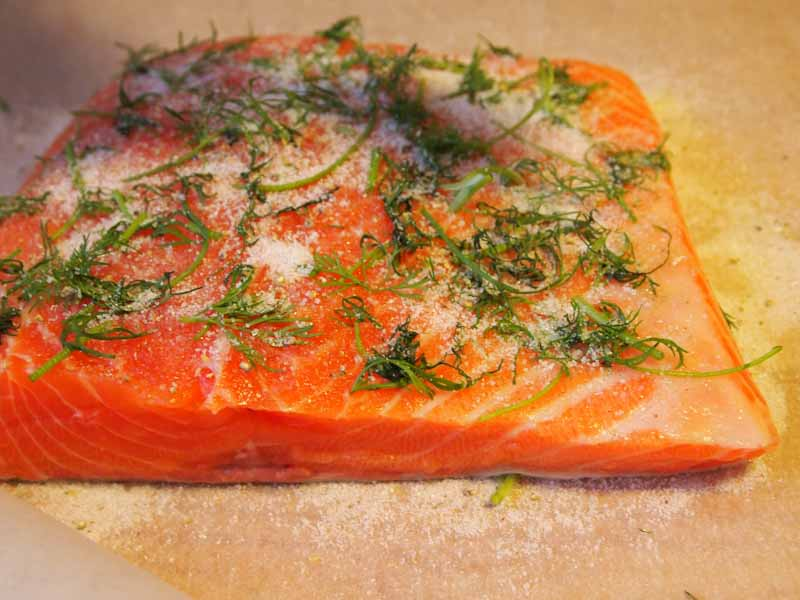 Salmon is a great source of Omega 3 fatty acids